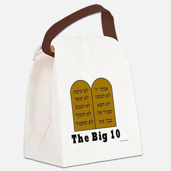 Big 10 Canvas Lunch Bag