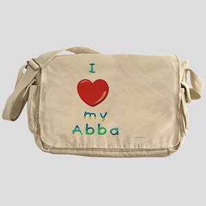 I love my abba Messenger Bag