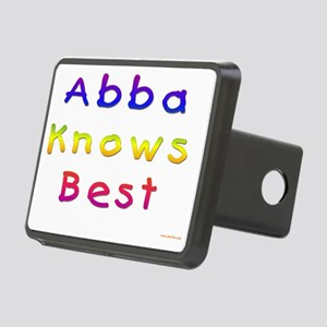 Abba Knows Best Rectangular Hitch Cover