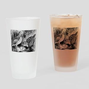 Woodcock - 1871 Drinking Glass