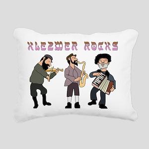 Klezmer ROcks Rectangular Canvas Pillow