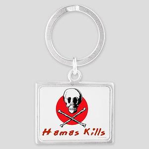 Hamas Kills Landscape Keychain
