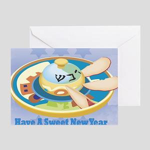 sweeet new year 5 Greeting Card