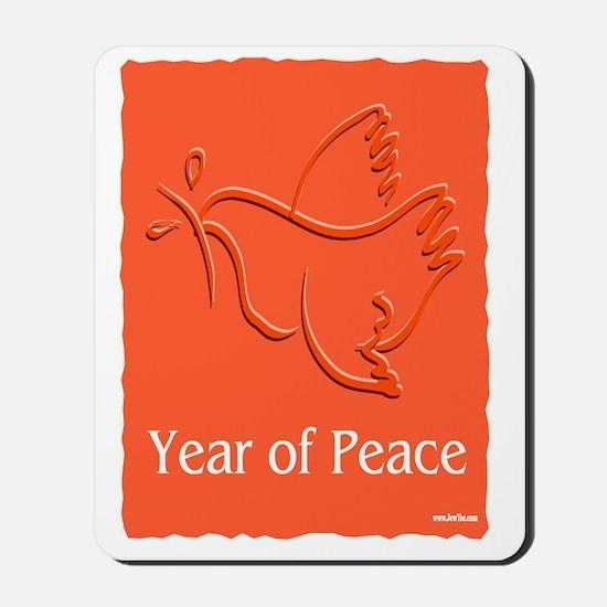Year Of Peace Mousepad