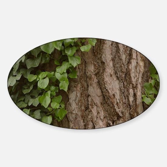Rosh Hashanah Tree Of Life Sticker (Oval)