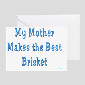 mother brisket Greeting Card