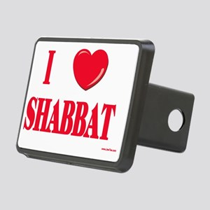 I love shabbat Rectangular Hitch Cover