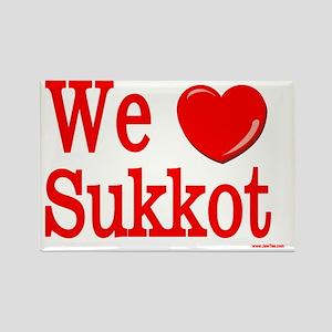 we love sukkot Rectangle Magnet