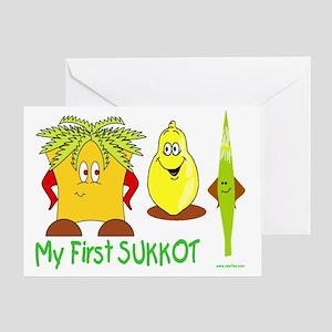 Sukkot greeting cards cafepress my first sukkot greeting card m4hsunfo