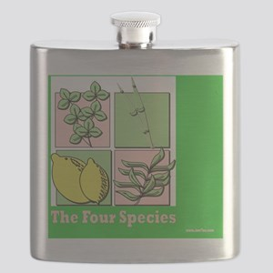Te Four Species Succah Poster Flask