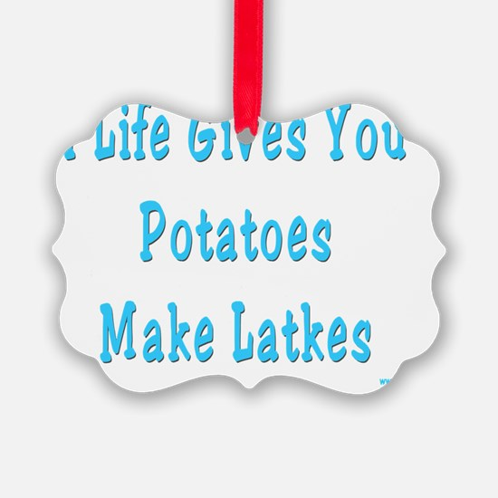 Make Latkes Ornament