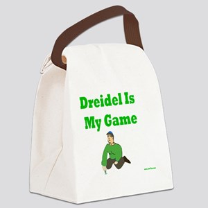 Driedel is My Game Canvas Lunch Bag