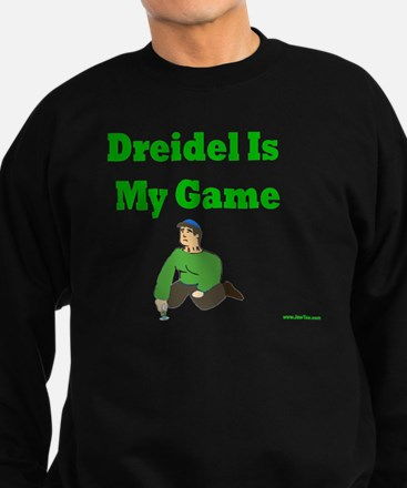 Driedel is My Game Sweatshirt (dark)
