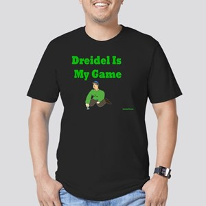Driedel is My Game Men's Fitted T-Shirt (dark)
