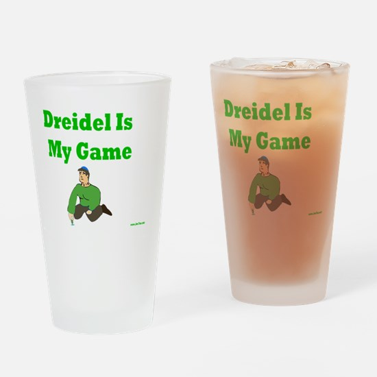Driedel is My Game Drinking Glass