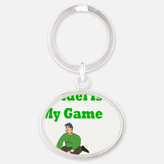 Driedel is My Game Oval Keychain