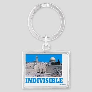 INDIVISIBLE Jerusalem Landscape Keychain