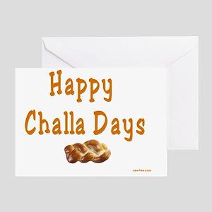 Happy sabbath greeting cards cafepress happy challa days flat greeting card m4hsunfo