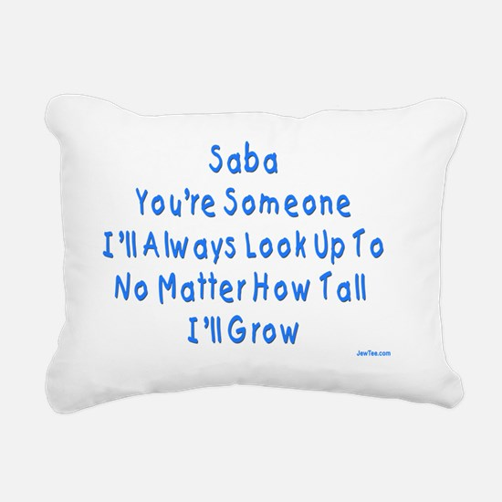 Look up to Saba Rectangular Canvas Pillow