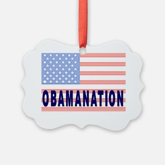 OBAMANATION Ornament
