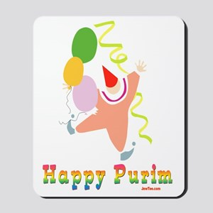 Happy Purim Multi flat Mousepad