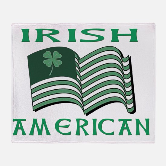 irish american Throw Blanket