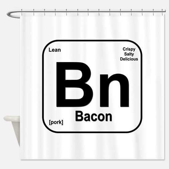 Bacon (Bn) Shower Curtain
