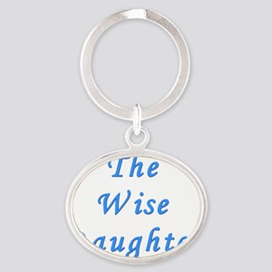 The Wise Daughter Oval Keychain
