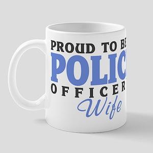 Proud Police Wife Mug