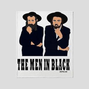 thE MEN IN BLACK Throw Blanket