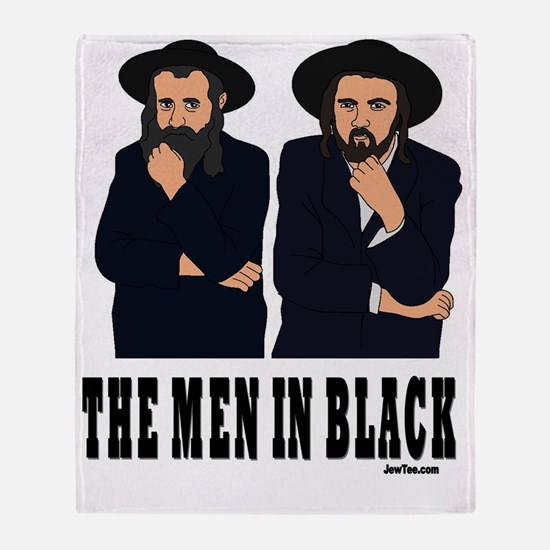 thE MEN IN BLACK Throw Blanket