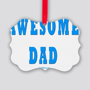 Awesome Dad Picture Ornament