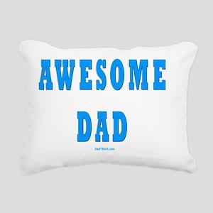 Awesome Dad Rectangular Canvas Pillow