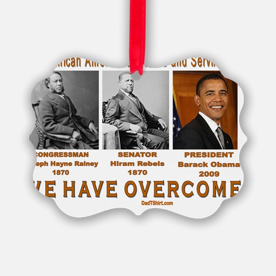 black firsts  Ornament