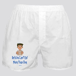 Betcha Cant eat flat Boxer Shorts