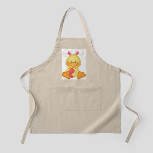 Duck bunny Apron