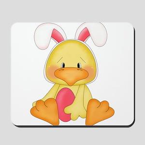 Duck bunny Mousepad