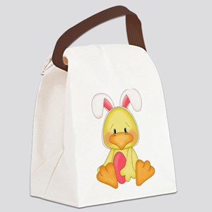 Duck bunny Canvas Lunch Bag