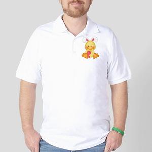 Duck bunny Golf Shirt