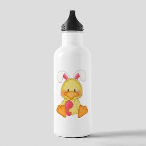 Duck bunny Water Bottle