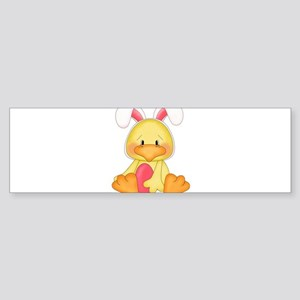 Duck bunny Bumper Sticker