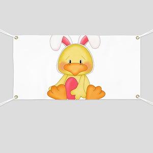 Duck bunny Banner