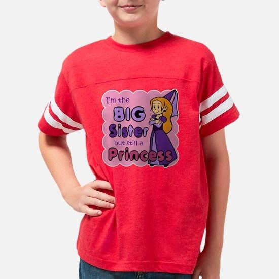 I'm The Big Sister Youth Football Shirt