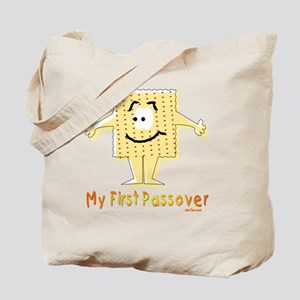 My First Passover Flat Tote Bag