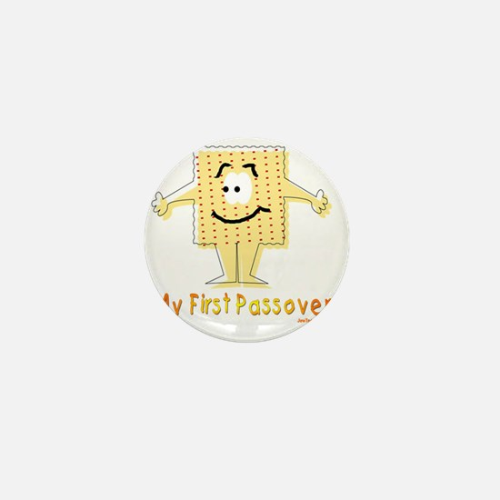 My First Passover Flat Mini Button