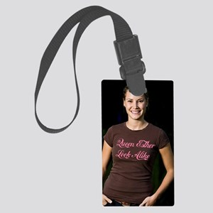 â??Queen Esther look Alike Girlâ Large Luggage Tag