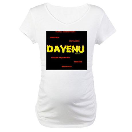 2-Dayenu Maternity T-Shirt