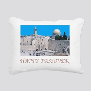 HAPPY PASSOVER  Jerusale Rectangular Canvas Pillow