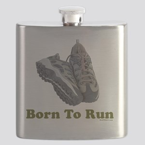 3-Born to Run flat Flask
