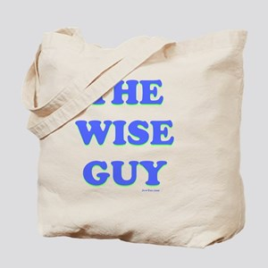 The Wise Guy flat Tote Bag